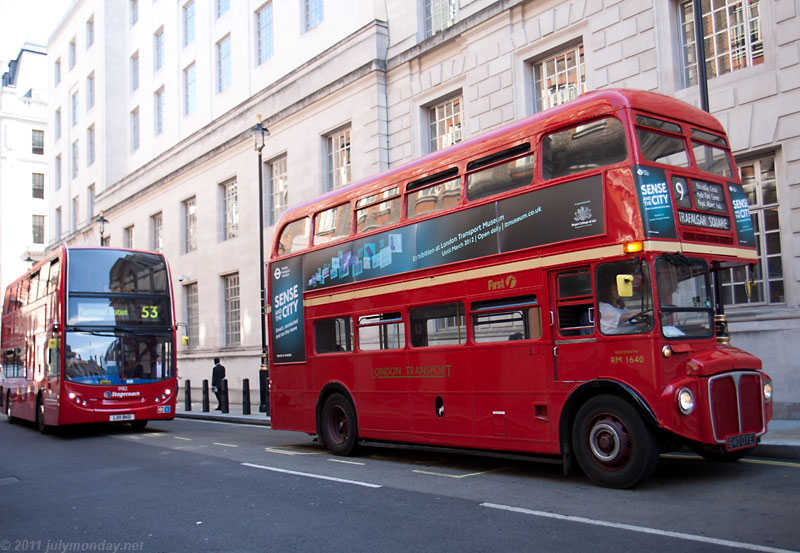 Routemaster with replacement