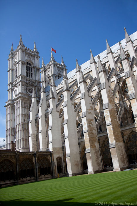 Westminster Abbey, cloister