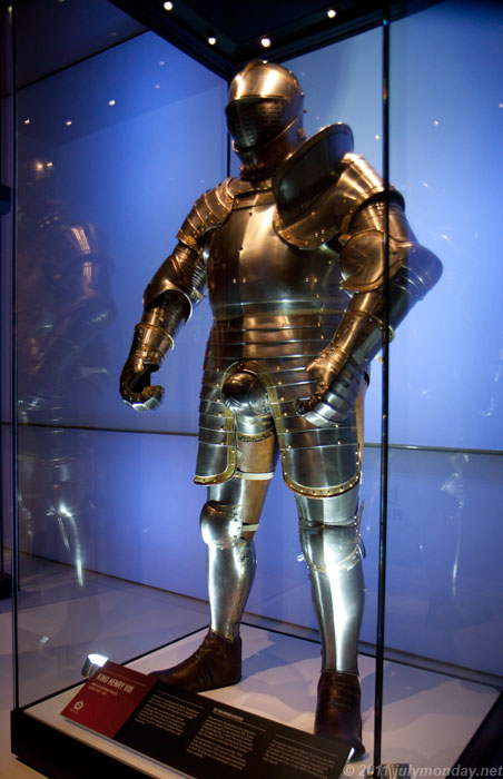 Henry VIII suit of armour
