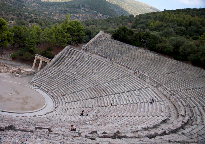 Epidaurus theatre, 4th century BC