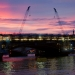 Cranes over Blackfriars Bridge