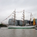 "Tall Ship ""Gloria"" on the Thames"