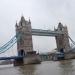 Tower Bridge in the rain